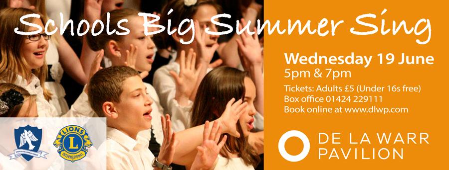 Schools Big Summer Sing